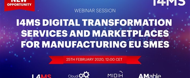 Digital Transformation Services and Marketplaces for manufacturing EU SMES webinar
